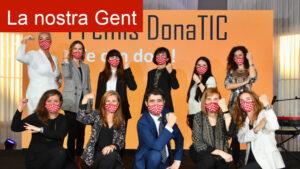 Guanyadores Premis DonaTIC 2020