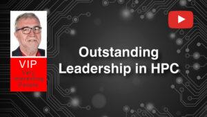 MATEO VALERO / obtiene el Premio Liderazgo Destacado en HPC en los Premios HPCwire Readers' Choice