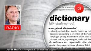 #625 Diccionari de la transformació digital (1) amb Jordi Marín