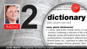#628 Diccionari de la Transformacio Digital (2) amb Jordi Marin