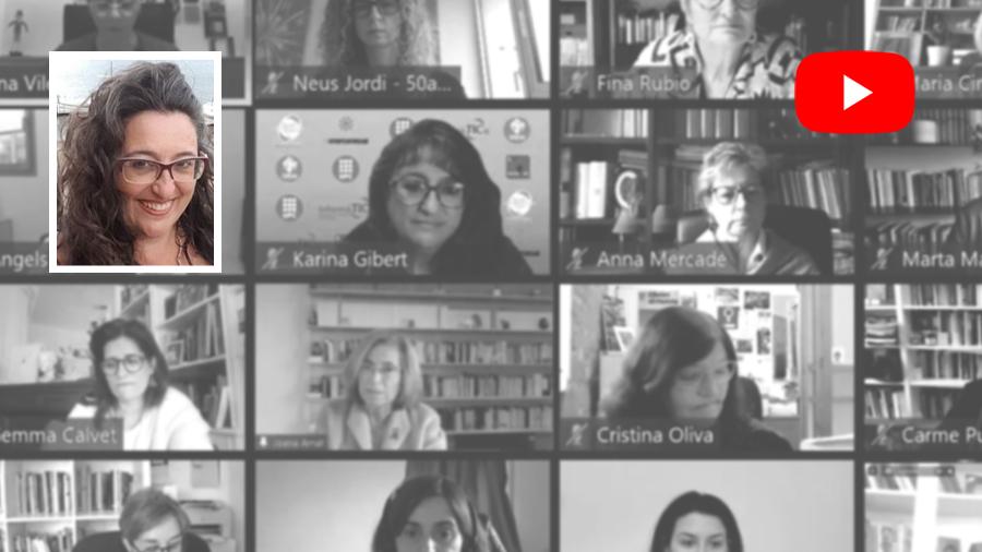 KARINA GIBERT / donesCOEINF, el Forum Hipàtia i el 8M (dia internacional de la dona treballadora)