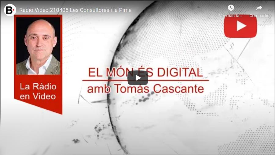 Jordi Marín / Les Consultores i la Pime – Versió video del programa de ràdio al que va participar en Jordi Marín