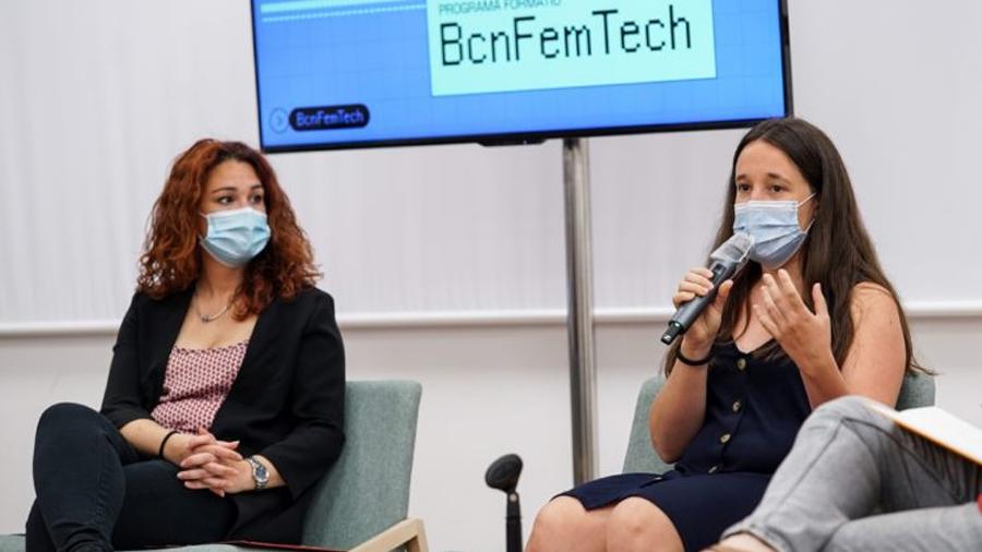 Red de mujeres BCN Fem Tech para combatir la brecha digital de género en la ciudad