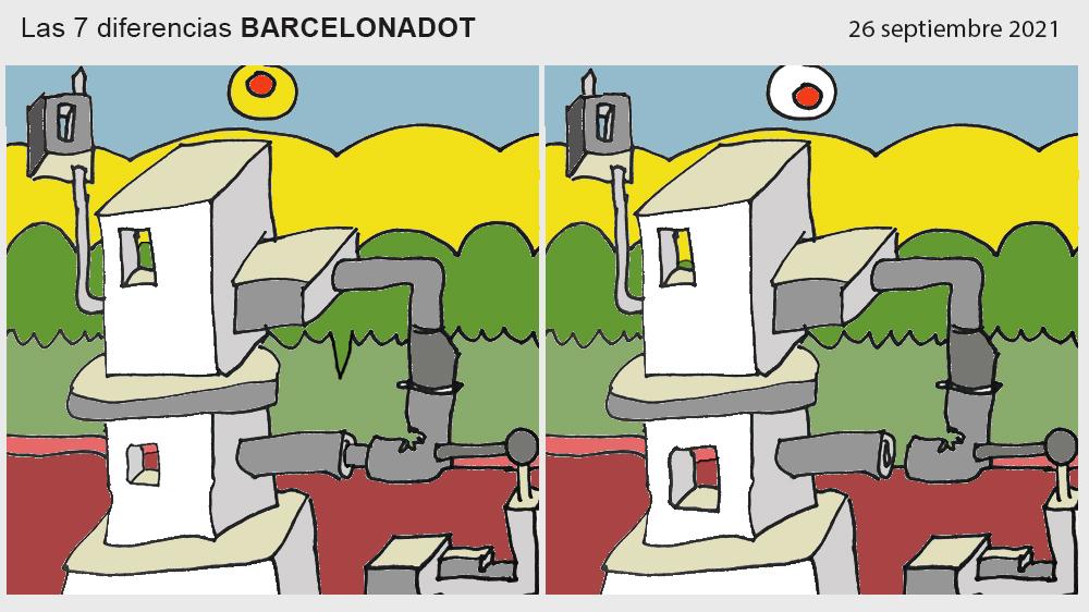 Las 7 diferencias BARCELONADOT