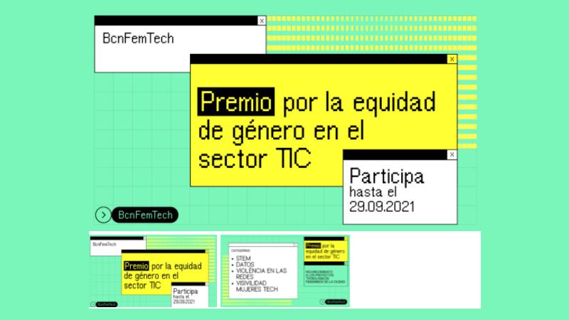 Premio Bcn Fem Tech por la equidad de género en el sector TIC