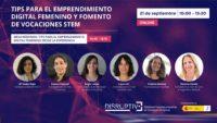 <strong>21 Sep 2021 10h.</strong><br> Tips per a l'emprenedoria digital femenina