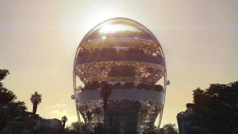 El espectacular edificio antipandemia que se levantará en Hollywood