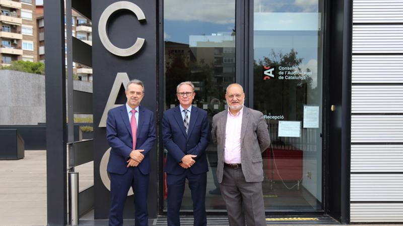Els presidents dels reguladors audiovisuals de Catalunya, Andalusia i València es reuneixen per analitzar l'Avantprojecte de llei de comunicació audiovisual