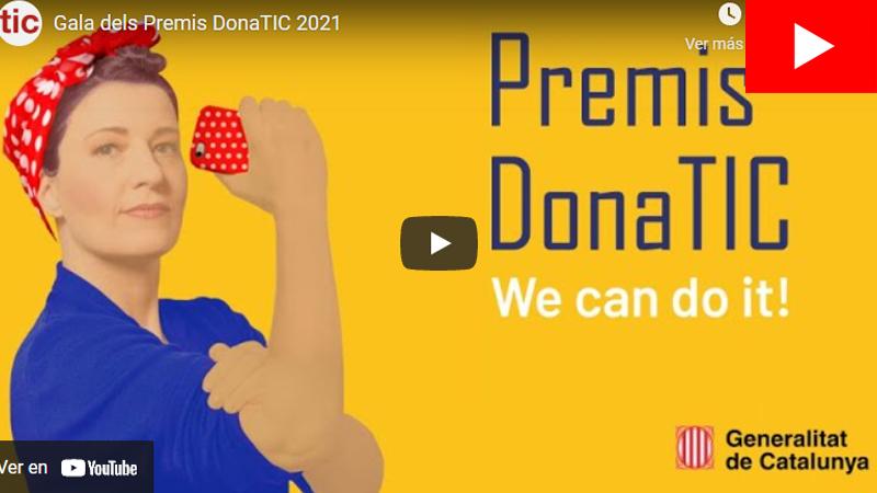 Gala dels Premis DonaTIC 2021