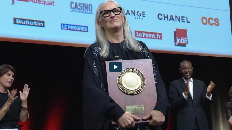 El Festival Lumière premia la labor cinematográfica de la directora Jane Campion